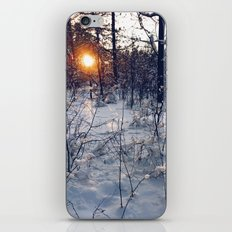 sunset of this winter iPhone & iPod Skin