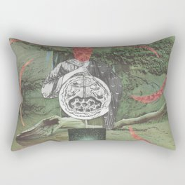 Chaos of Primal States Rectangular Pillow
