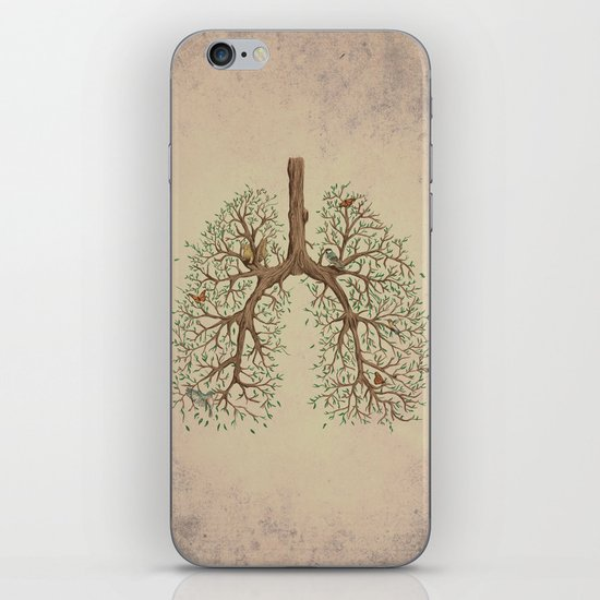 Breathe! iPhone & iPod Skin