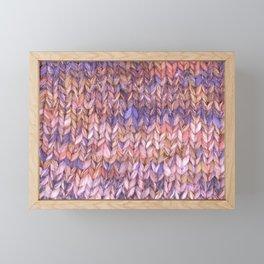 Knitter Framed Mini Art Print