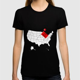 Knob Pin New Mexico T-shirt