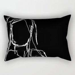 Brutal Sketch 2 Rectangular Pillow