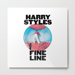Fine Line Album Merch Metal Print