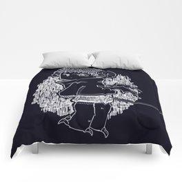 Little Demon Damian Comforters