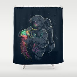 Jellyspace Shower Curtain