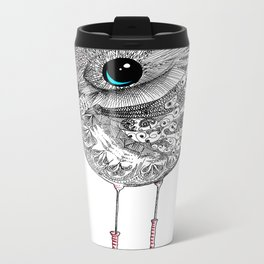 bird one Metal Travel Mug