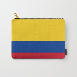 Flag of Colombia-Colombian,Bogota,Medellin,Marquez,america,south america,tropical,latine america Carry-All Pouch