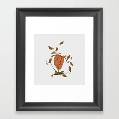 Find My Heart Framed Art Print