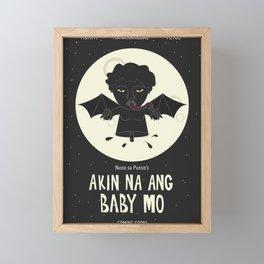 Akin Na Ang Baby Mo (Philippine Mythological Creatures Series) Framed Mini Art Print