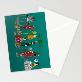 Office Party Stationery Cards