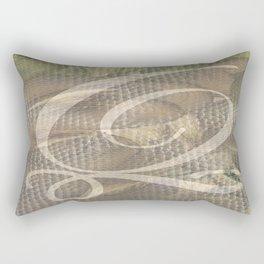 Three of Pentacles Rectangular Pillow