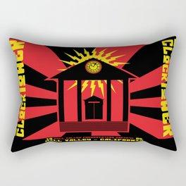 Clocktower Propaganda Rectangular Pillow