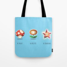 Be.  Tote Bag