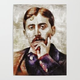 Marcel Proust, Literary Legend Poster