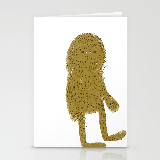 Sasquatch man Stationery Cards