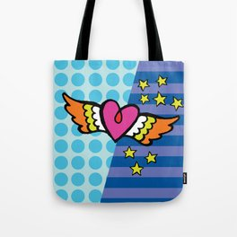 Kisses Even To The Air Are Beautiful Tote Bag