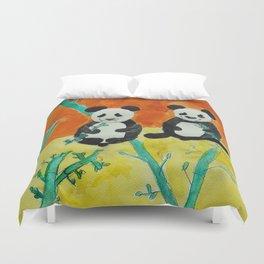 Pandas Duvet Cover