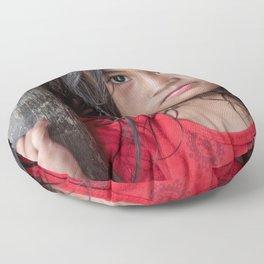 Red&Black Floor Pillow