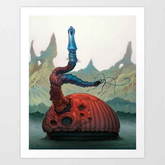 Magwan Flan Art Print