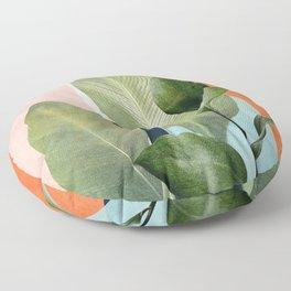 Nature Geometry VII Floor Pillow