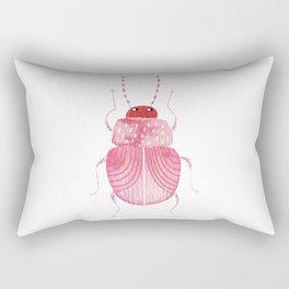 Sarcastic Beetle Rectangular Pillow