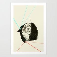 Lazer Minx  Art Print