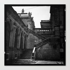 dresden germany staircase  Canvas Print
