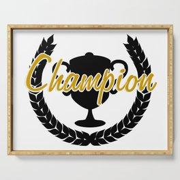 Champion Serving Tray