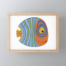 Fish art 21.2 Framed Mini Art Print
