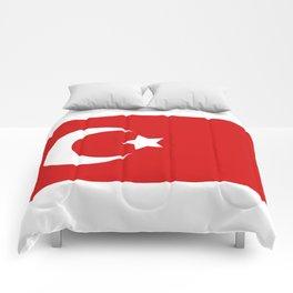 turkey flag Comforters