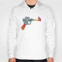 gun Hoodies featuring Gun Toy by Florent Bodart / Speakerine