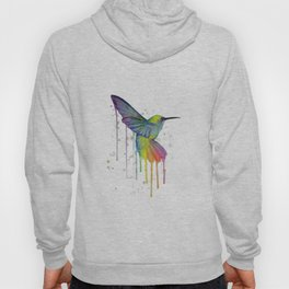 Hummingbird Watercolor Hoody
