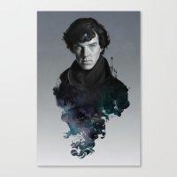 artgerm Canvas Prints featuring The Excellent Mind by Artgerm™