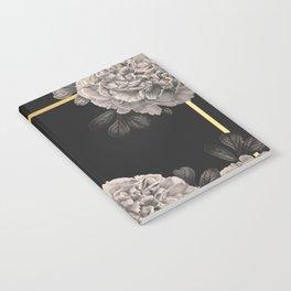 Flowers on a winter night Notebook