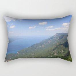 Climb Every Mountain With Wanderlust Rectangular Pillow