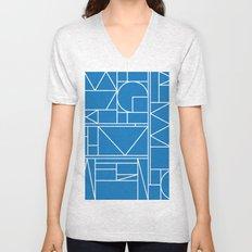 Kaku Blue 2 Unisex V-Neck