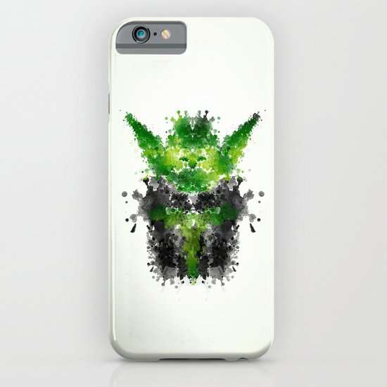 Rorschach Yoda iPhone & iPod Case