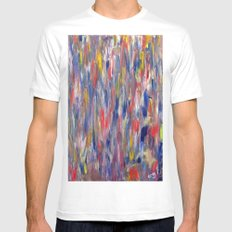 The Response #2 MEDIUM White Mens Fitted Tee
