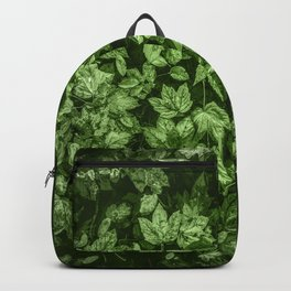 Green Leaves | Nature Art | Nature Home Backpack