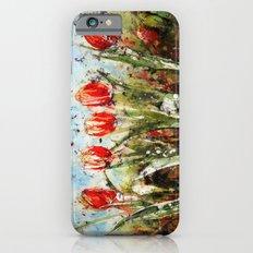 Tulips in Red . Batik Slim Case iPhone 6s