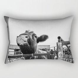 Silly Cow Rectangular Pillow