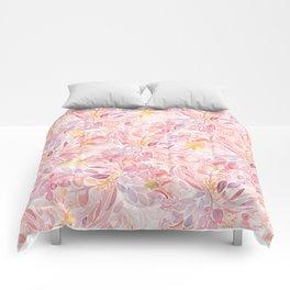 Pastel Flowers Comforters
