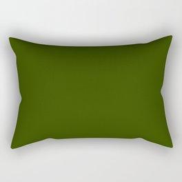 Verdun so naturally Green Rectangular Pillow