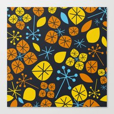 Leaf Scatters Canvas Print