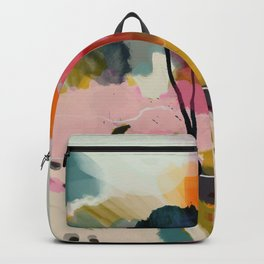 paysage abstract Backpack