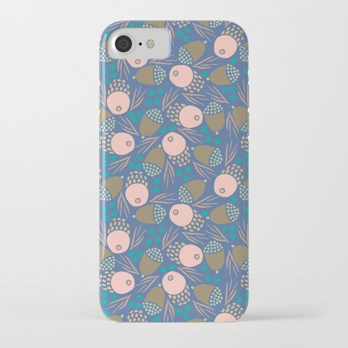November Born - acorn pattern iPhone Case