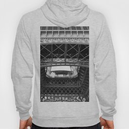 The Eiffeltower iron construction in black and white Hoody