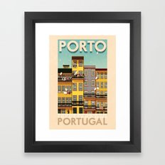 Portugal - Porto Framed Art Print
