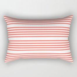 Mariniere marinière – coral 2 Rectangular Pillow