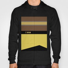 Geordie La Forge - Minimalist Star Trek TNG The Next Generation - 1701 D startrek Trektangles Hoody